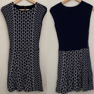laundry by Shelli Segal Fit and Flare Knit Dress
